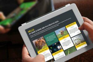 responsive design tablette